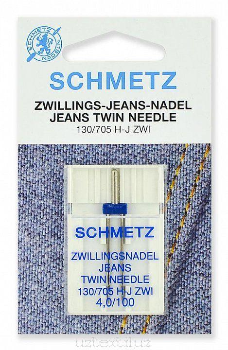 Иглы двойные Schmetz 130/750HJ ZWI №100/4.0 - 1 Штука