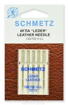Иглы Для Кожи Schmetz 130/705H-LL №70 размер 5 шт