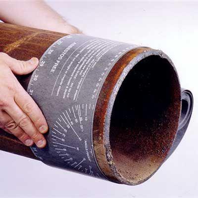 Лента для разметки труб «Pipe Wrap»