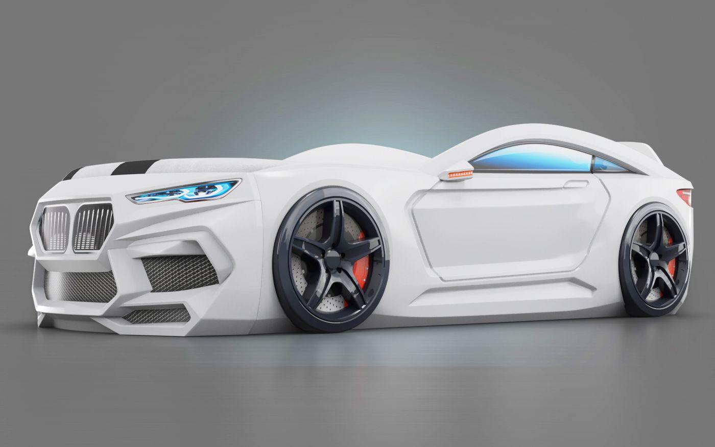 Кровать-машинка Romeo 3D