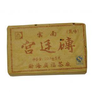 Дворцовый (Гун Тин) пуэр, плитка 100гр