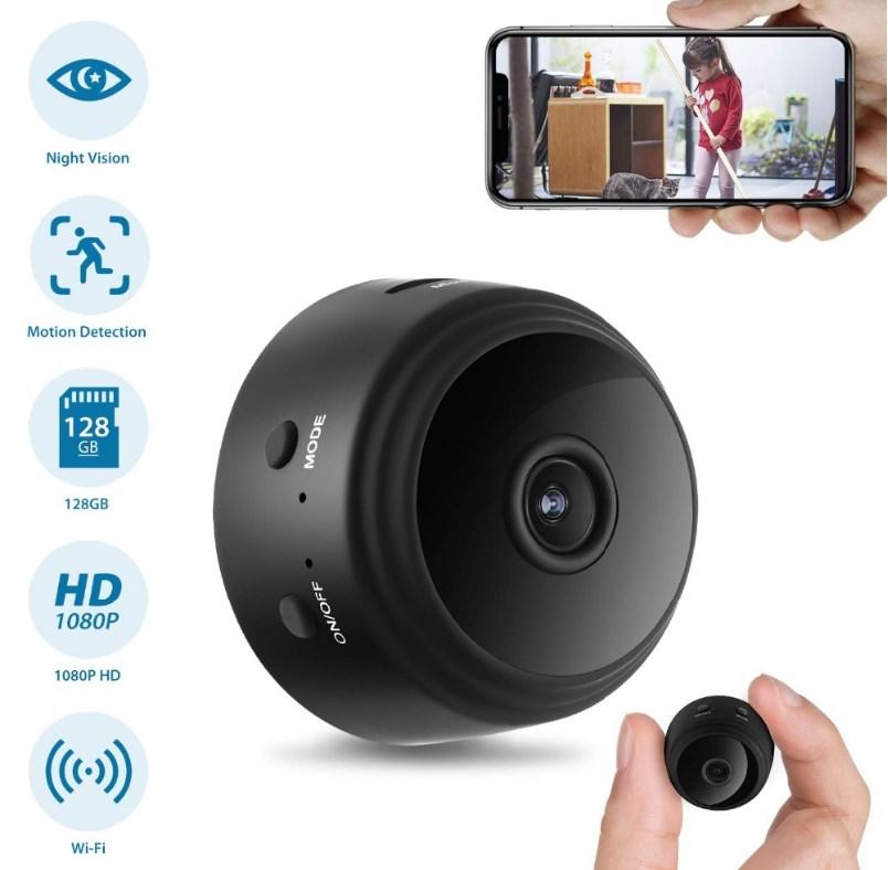 Миниатюрная камера  A9 с Wi-Fi ( беспроводная)