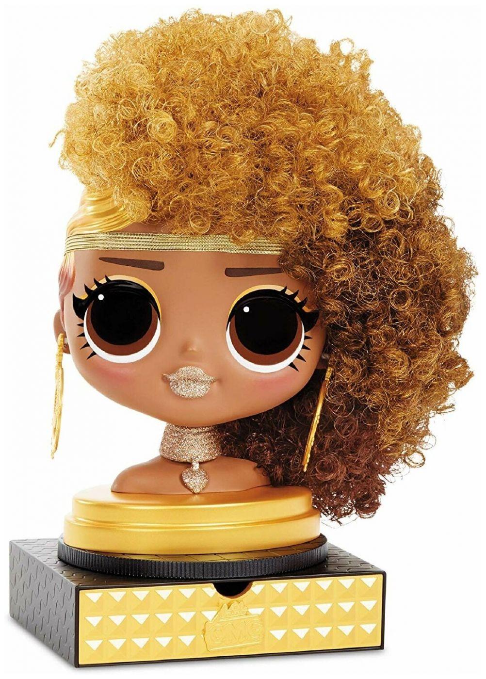 "Голова куклы L.O.L. ""Surprise OMG Styling Head Royal Bee"""