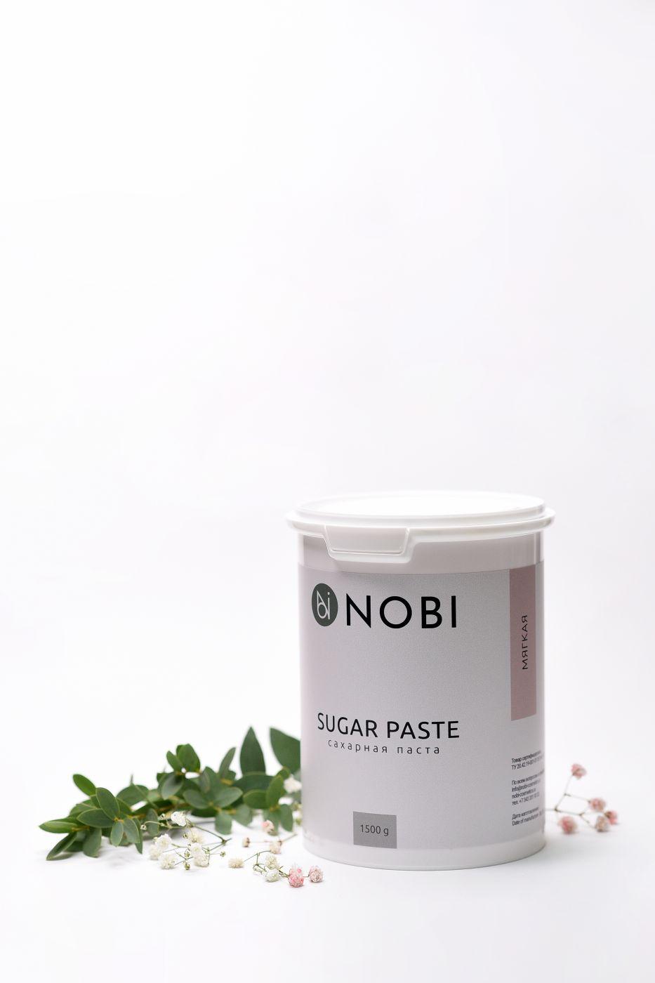 Паста для шугаринга NOBI Мягкая 1500 гр