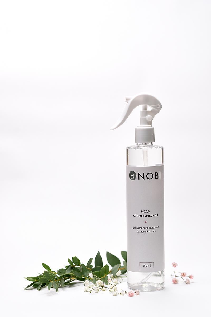 Вода косметическая для удаления остатков сахарной пасты NOBI 350 мл