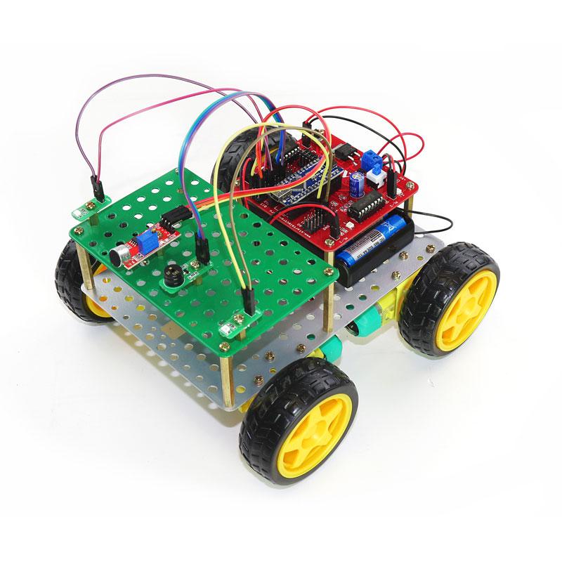 "Конструктор - робот ЛАРТ ""ПЕЧЕНЕГ Батана"". Микроэлектроника и схемотехника."