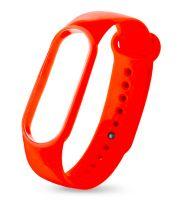 Силиконовый ремешок для Фитнес-браслета  Smart Band 6 (Оранжевый)