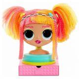 Голова куклы для причёсок ( L.O.L. Surprise OMG Styling Head Neonlicious)
