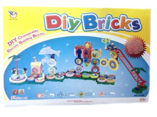 Конструктор DIY BRICKS 83 детали