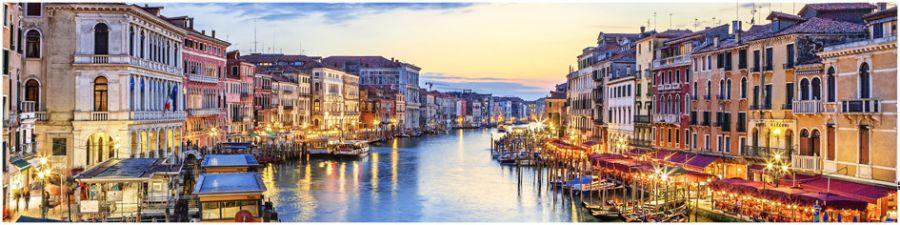 Кухонный фартук AG 01-Венеция город вода