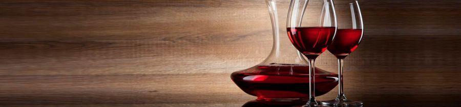 Кухонный фартук BS 43 - Графин с вином