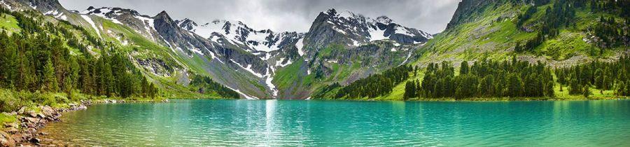 Кухонный фартук BS 44 - Природа вода горы
