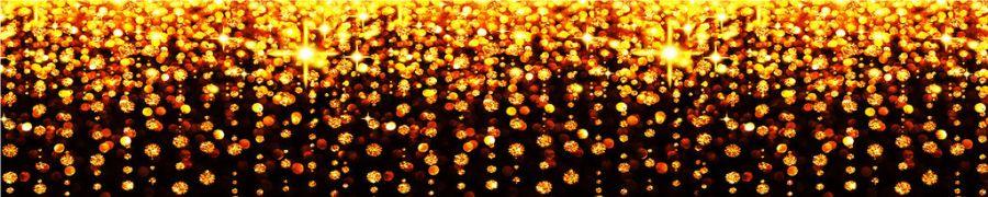 Кухонный фартук BS 53 - Золотые огоньки