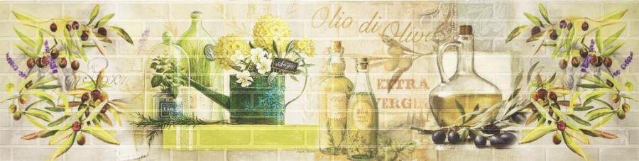 Кухонный фартук Олио/тиснение кирпич