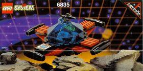6835 Лего Летающая тарелка Спайриуса