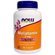 Now Мелатонин 3 мг 180 капсул