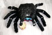 черная игрушка паук