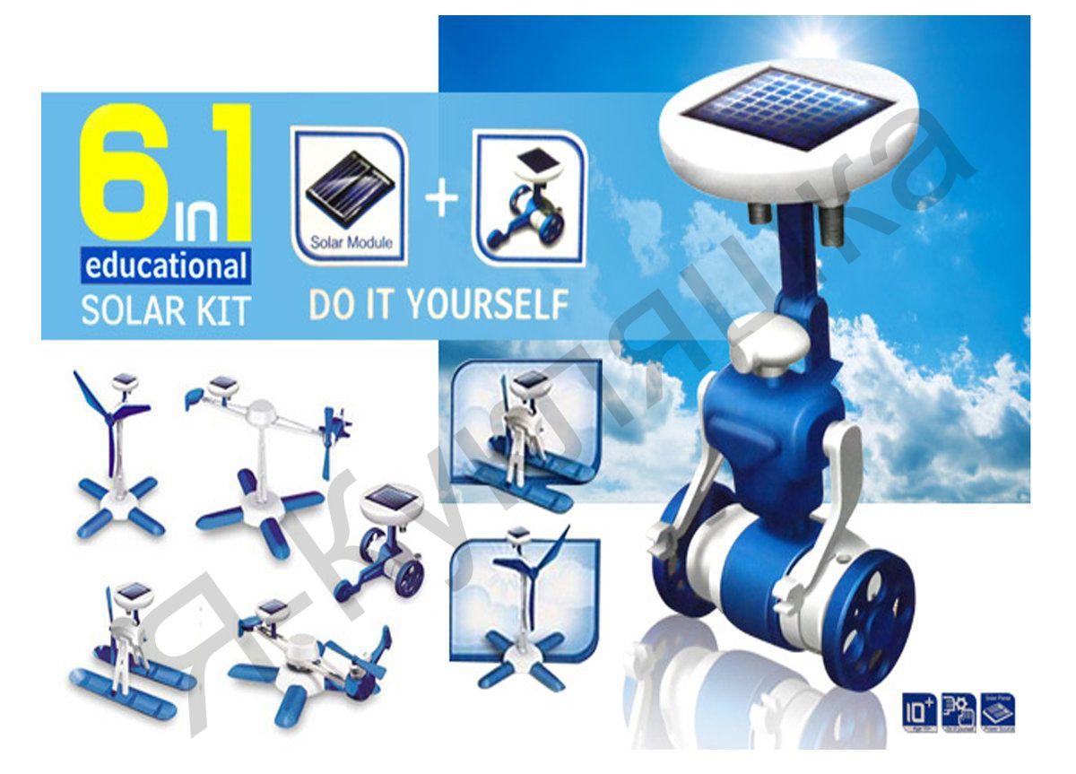 Конструктор 6 в 1 Solar Kit