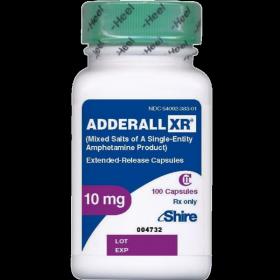Аддералл XR 10мг 100таб