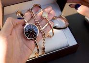 Набор женский: Часы + 2 браслета Anne Klein