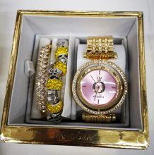 Набор женский: Часы + 2 браслета Pandora