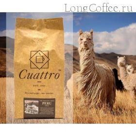 "Кофе CUATTRO ""Peru"""