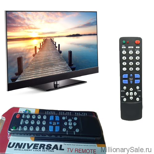 Универсальный пульт для телевизора Universal Remote Control F-2100