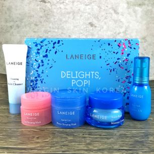 Laneige - Delights Pop Best Sellers Trial Kit