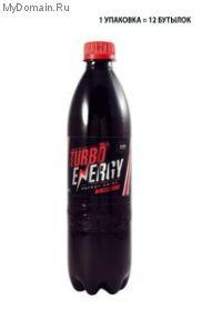 Turbo Energy Ягодный 0.5л*12шт