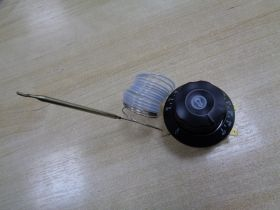 Эл_Терморегулятор духовки 20A/250V/1,7m/23mm/50-270°С (mod.T270-1RF-220)+Р