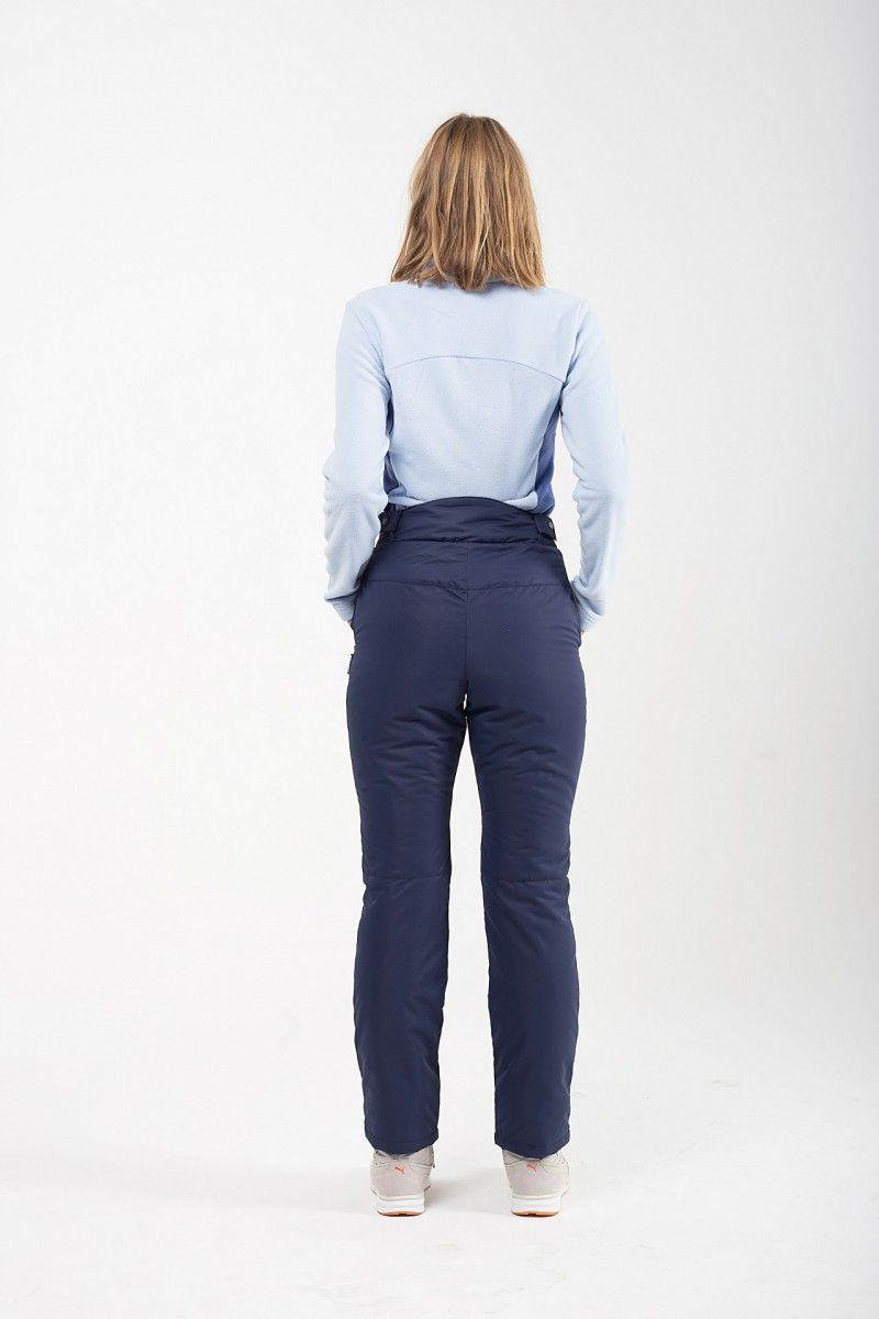 Утепленные женские брюки мембрана т.синий HEIDEN вид3