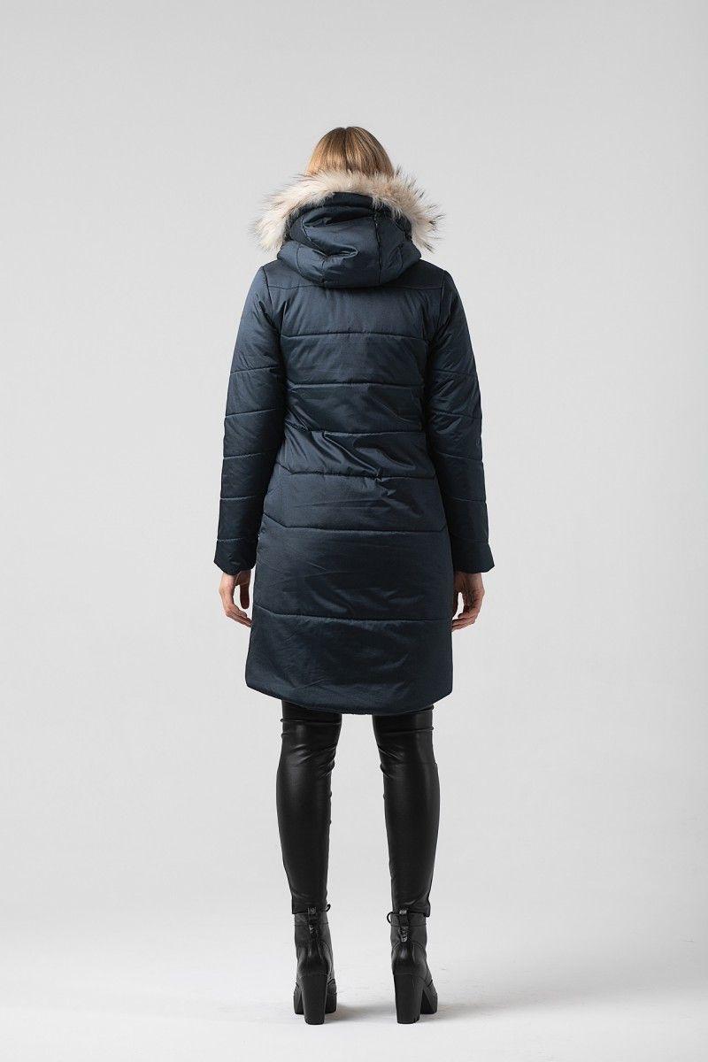Пальто женское HEIDEN цвет темно синее вид3