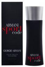 """Мужская туалетная вода """"ARMANI СODE SPORT"""" GIORGIO ARMANI, 100ML, EDT"""