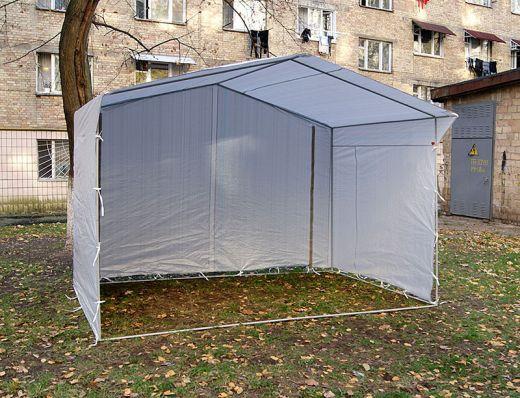 Палатка торговая 2,5х2, разборная «Домик», белая (Россия