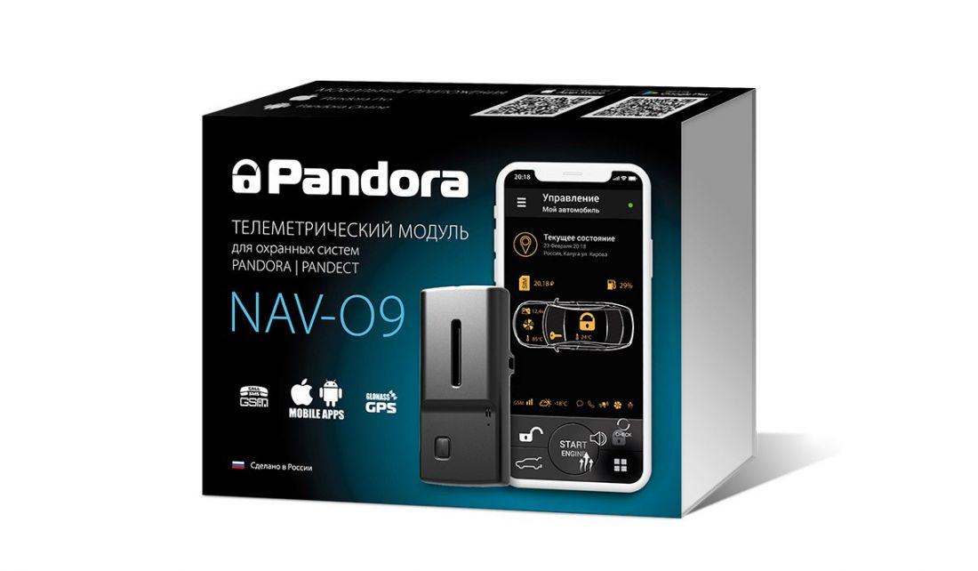 Телеметрический GSM/GPRS/GPS/ГЛОНАСС-модуль Pandora NAV-09