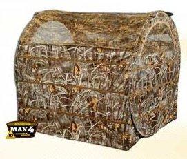 """Переносная засидка """"валок"""" на гуся AMERISTEP Hayhouse с откидным верхом, камуфляж Advantage®MAX-4"""