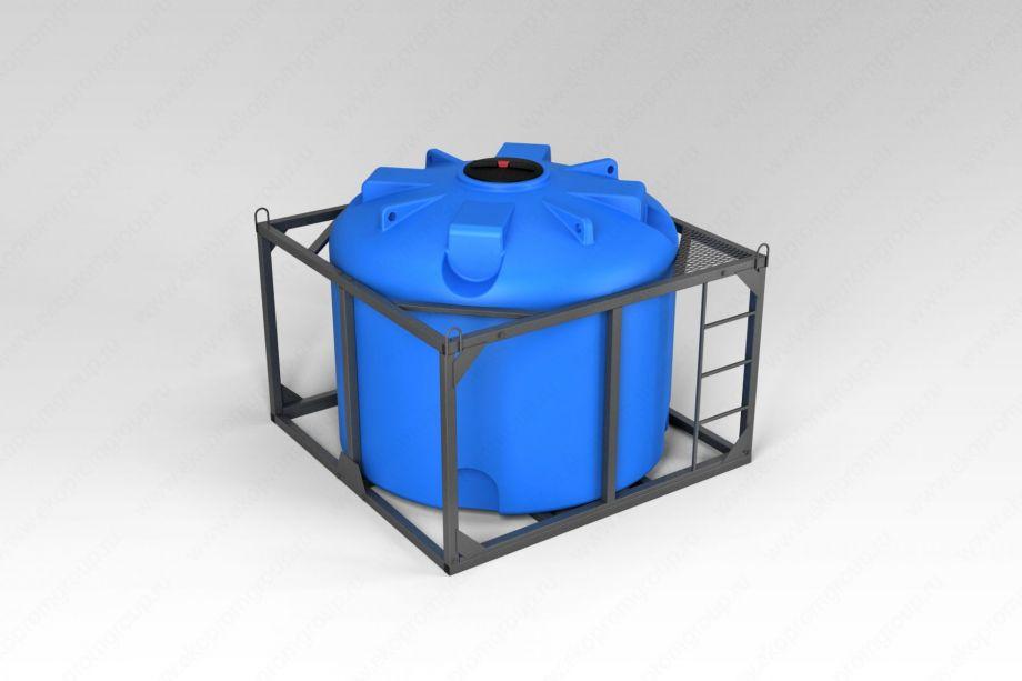 Емкость TR 4500 литров в обрешетке