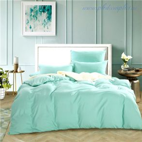 Комплект постельного белья однотонный Тиффани