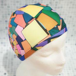 Узор 1 Текстильная шапочка для плавания
