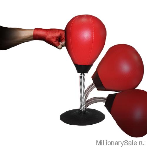 Настольная боксёрская груша антистресс SX Punching Ball