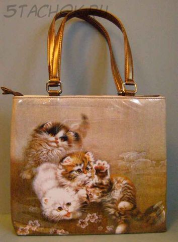 "Сумочка ""Кошечки в японском стиле"" (Butler & Wilson Великобритания)"