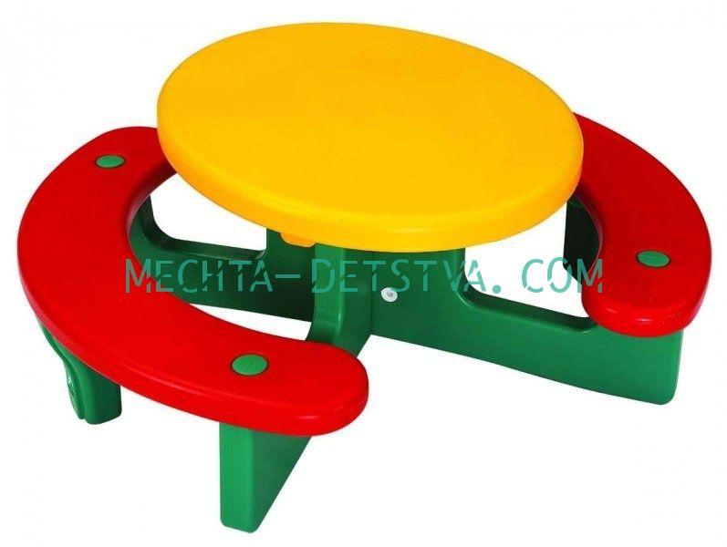 Столик с лавочками «Пикник» LERADO L-503