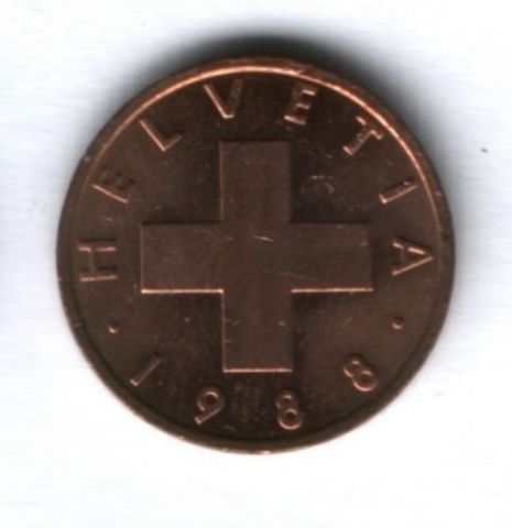 1 раппен 1988 г. Швейцария