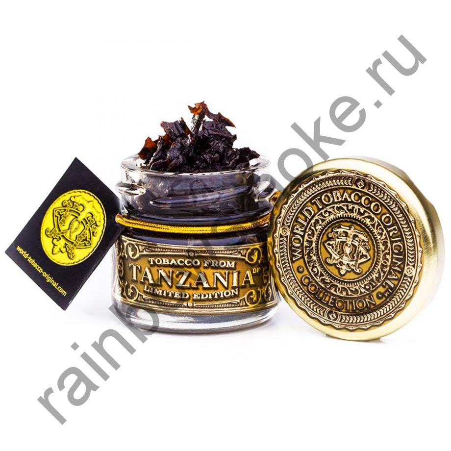World Tobacco Original 20 гр - Tanzania Original (Танзания Оригинальная)