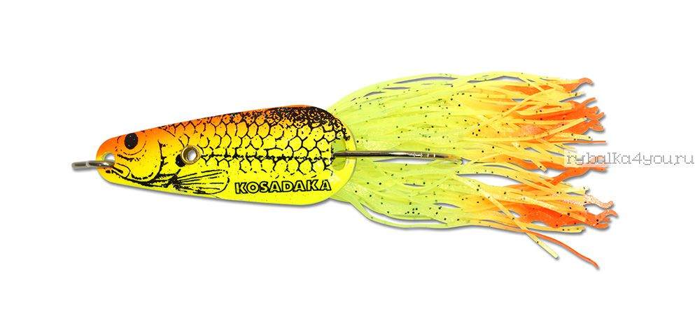 Купить Блесна Kosadaka Bullet Spoon 55мм / 21 гр цвет: С108