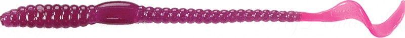 Червь MISTER TWISTER Phenom Worm 15 см уп. 10 шт. 46 (фиолетовый / огненный хвост) фирменная упаковка