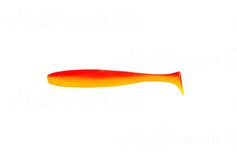 Виброхвост MISTER TWISTER Shad 5 см уп. 10 шт. 82-Yellow/Orange Back (желтый/оранжевая спинка) фирменная упаковка