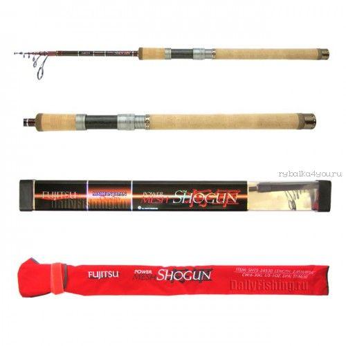 Спиннинг телескоп. Fujitsu Shogun SHTS Fishing Roos TP/MH/XF 2,75 м / тест 8 - 42 гр