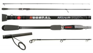 Спиннинг Aiko Arsenal ARS762ML 229 см 3-21 гр