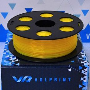 PLA пластик VolPrint 1,75мм желтый, 1кг